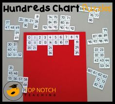 Hundreds chart puzzles are a fun way for your students to revise the order of numbers and look for patterns. Here you'll find 3 free hundreds chart puzzles. http://topnotchteaching.com/lesson-ideas/hundreds-chart/
