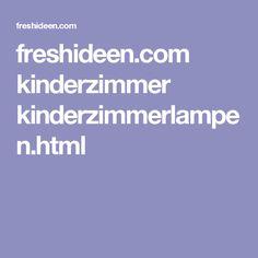 freshideen.com kinderzimmer kinderzimmerlampen.html