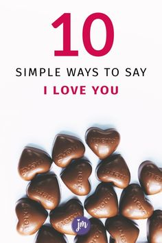 I love these ideas for Valentine's Day or really, ANY day...sometimes the simplest ideas are the best to show your love for someone. Best Friend Gifts, Gifts For Friends, Gifts For Him, Going Away Gifts, Say I Love You, Christmas Gifts, Holiday, Creative Gifts, Simple Way