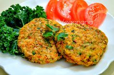 Veganana: Hambúrguer de Arroz e Cenoura sem Glúten