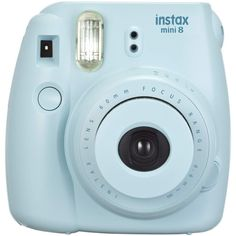 Fujifilm Instax Mini 8 Blue Instant Camera | Jo-Ann (€53) ❤ liked on Polyvore featuring fillers, camera, accessories, tech, electronics, backgrounds, embellishment, detail, phrase and quotes