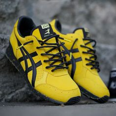 "#closerlook: Bruce Lee x @baitme x @onitsukatigerus Colorado Eighty-Five ""Legend"" by hypebeast"