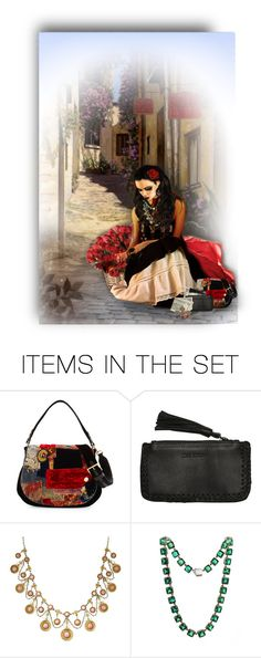 """""""The Gypsy Rose Seller"""" by auntiehelen ❤ liked on Polyvore featuring art"""