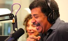 Top 20 STEM Education Podcasts You Should Be Listening to Now! Neil Tyson on the mic at his podcast.