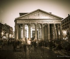 Rome Pantheon - null