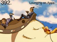 lounging on Appa