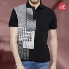 The exotic patterns and traditional prints of Morocco are transposed into most contemporary fashion. These Moroccan-inspired designs show the perfect blending of cultures in most exquisite style.  Order this boldly sophisticated poloneck tee from http://bit.ly/1Y03Kho