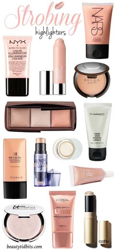 How to apply a highlighter for strobing & the best makeup products to use!