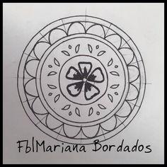 Diseño mini mandala - Fb|Mariana Bordados