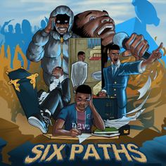 The London MC's Six Paths EP is due out September 30th.