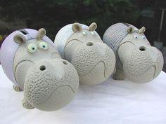 hippo piggy bank