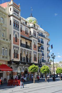 Séville en #Espagne #Voyage #Architecture
