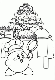 71 Best Kirby Party Age 5 Images In 2018 Kirby Nintendo