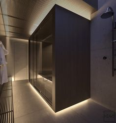 sauna-style-bathroom-slatted-wooden-finishes-bottom-illumination
