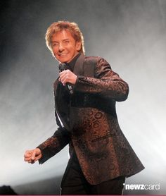 Barry Manilow performs at Fox Theater on March 2012 in Detroit, Michigan. (Photo by Paul Warner/Getty Images) The Music Man, My Music, Barry Manilow, Music Icon, Show Photos, Favorite Person, Man Crush, Celebrity Photos, Are You The One