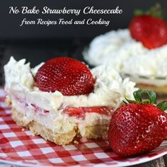 No Bake Strawberry Cheesecake Hello everyone! I love posting over here at Princess Pinky Girl and I am so excited to be sharing this quick and easy dessert with you. Everyone needs a go to recipe that can be made in less than 30 minutes and this one is perfect for summer. I'm Mary Ellen …
