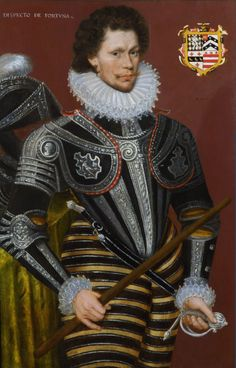 1578 attr. to Cornelis Ketel - Portrait of Edward Gill.