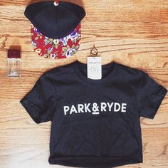 Get fresh with floral and crops. shop now www.parkandryde.com