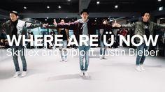 Where Are Ü Now  - Skrillex, Diplo, Justin Bieber / Bongyoung Park Chore...