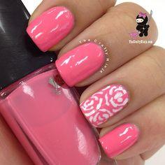 Pink Floral | Instagram photo by @Nadia Brendish via ink361.com