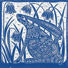 Buy Hare and Bluebells, linocut, Linocut by Mariann Johansen-Ellis on Artfinder. Discover thousands of other original paintings, prints, sculptures and photography from independent artists.