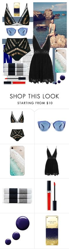 """""""St Bart's"""" by gigimz ❤ liked on Polyvore featuring Zimmermann, Prada, Gray Malin, James Perse, Christian Dior, Topshop and Michael Kors"""
