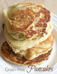 This combination of tapioca and coconut flour melts in your mouth. You'll love these grain-free, gluten-free pancakes!