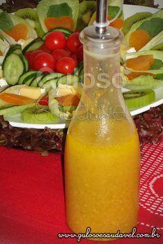 Fez frango ou salada e falta alguma coisa? Teste o Molho de Mostarda com Laranja, é simples! http://wp.me/p1D7Fs-3aP