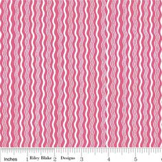 Hot Pink Crimp Fabric by Riley Blake by SewFancyFabrics on Etsy