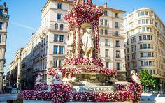 Festival mondial des roses - Lyon 2015   Place des Jacobins