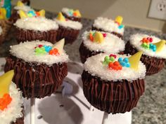 Mixed drink cake pops