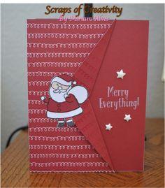 CTMH Reindeer Bells Stamp Set and Fundamentals paper set