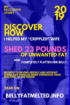 Discover how i helped my 'crippled' wife Shed 23 pounds of unwanted fat and completely flatten her belly. WITHOUT starving herself and without doing any exercise more strenuous than walking to the fridge! This inspiring weight loss story is a real person who got verified results using the exact methods. Belly Fat Burner, Burn Belly Fat, Perfect Image, Perfect Photo, Love Photos, Cool Pictures, Text Layout, Easy Diets, Help Me