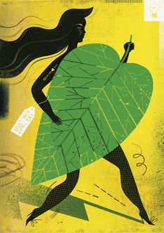 Illustration artwork by Agate Dudek from Inspiration Grid is a daily-updated gallery celebrating creative talent from around the world.