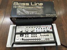 MATRIXSYNTH: Roland TB-303 Bassline Synthesizer with Devil fish...