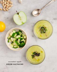 cucumber apple gazpacho