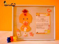 cuadros para bebés caprichos isama