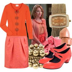 Emma Pillsbury on Glee - love this look Weird Fashion, I Love Fashion, Boho Fashion, Fashion Ideas, Emma Style, Her Style, Hello Gorgeous Blog, Librarian Chic, Western Outfits