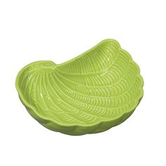 Coastal Nautilus Serving Bowl, Lt Green 16 IN by Andrea by Sadek | Fitz and Floyd