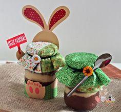 lembrancinhas de páscoa com potinhos personalizados para doce Bunny Crafts, Easter Crafts For Kids, Kitchenaid, Easter Cookies, Jar Gifts, Easter Party, Easter Recipes, Craft Stick Crafts, Diy Crafts