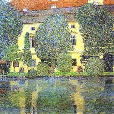 Google Image Result for http://worldartresources.com/blog/wp-content/uploads/2011/05/Gustav-Klimt-Scloss-Kammer-on-the-Attersee-oil-on-canvas-painting.jpg