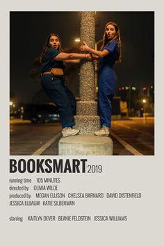 Alternative Minimalist Movie/Show Polaroid Poster Booksmart Iconic Movie Posters, Minimal Movie Posters, Cinema Posters, Iconic Movies, Music Posters, Retro Posters, Band Posters, Film Polaroid, Poster Wall