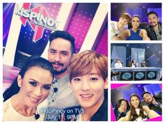 We know you would like to see more photos from our judges. So here you go the #KISPinoy outtakes from IG accounts of @kevin_woo1125 @gellidebelen and @ricoblanco100