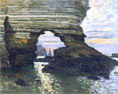 Portd`AmountEtretat - Claude Monet