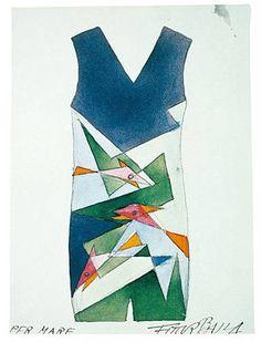 vestido futurista 2