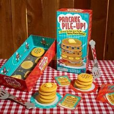 Amazon.com: Educational Insights Pancake Pile-Up! Relay Game: Toys & Games