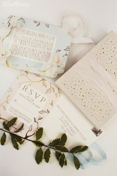 3D wedding invitations and stationery! THE WANDERESS: MODERN EUROPEAN WEDDING INSPIRATION www.elegantwedding.ca