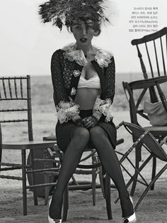 Batch of Spreads Of Lee Hyori In The May 2013 Issue of Vogue Korea Fashion Shoot, Editorial Fashion, Fashion Beauty, Fashion Mag, Kpop Fashion, Lee Hyori, Kpop Girl Bands, Blazer And Shorts, Vogue Korea