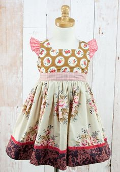 CAFE CARAMEL LOVES ME DRESS $68.00 | Code: P15MD54 Born with love in the USA