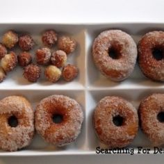 Apple Cider Doughnuts by searchingfordessert